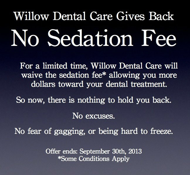 No Sedation Fee.001pmsm