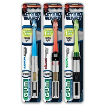 starwars lightsabre toothbrush