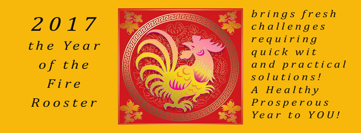 2017 - Year of the Fire Rooster